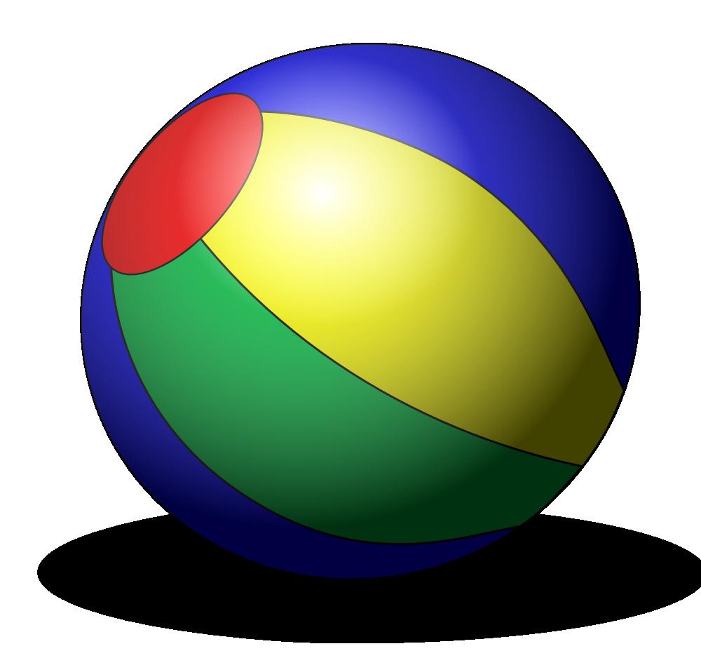 Toy Ball Clip Art : Onlinelabels clip art beachball