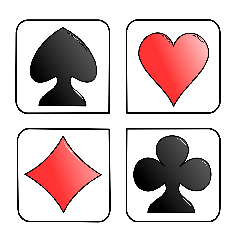 onlinelabels clip art cards rh onlinelabels com playing cards clip art borders playing card clip art free