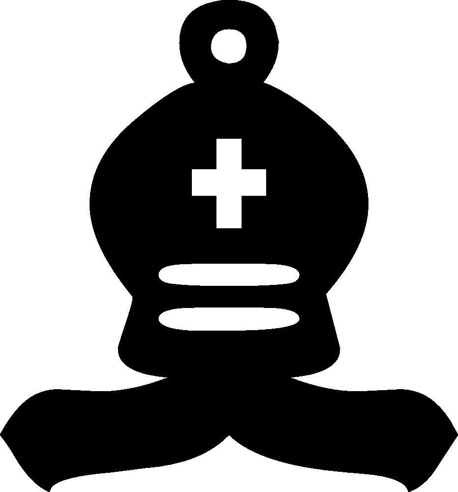 OnlineLabels Clip Art - Chess Symbols Set