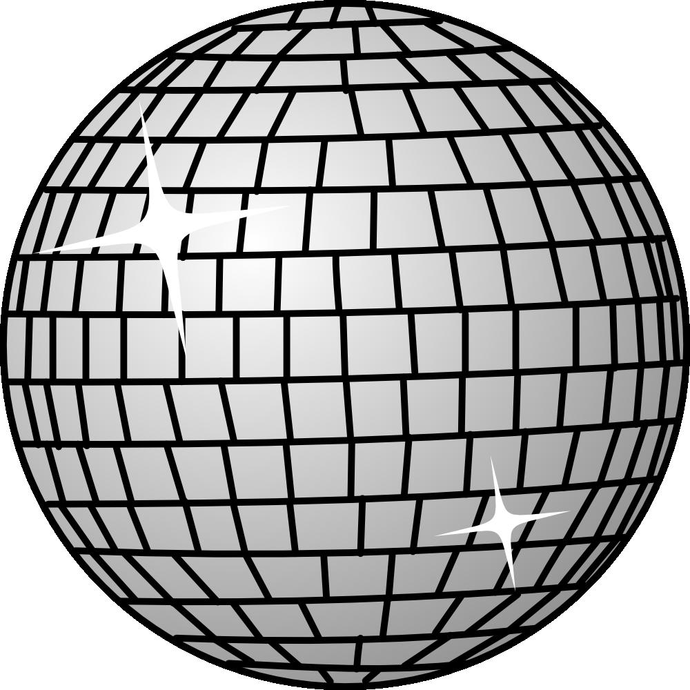 onlinelabels clip art  disco ball