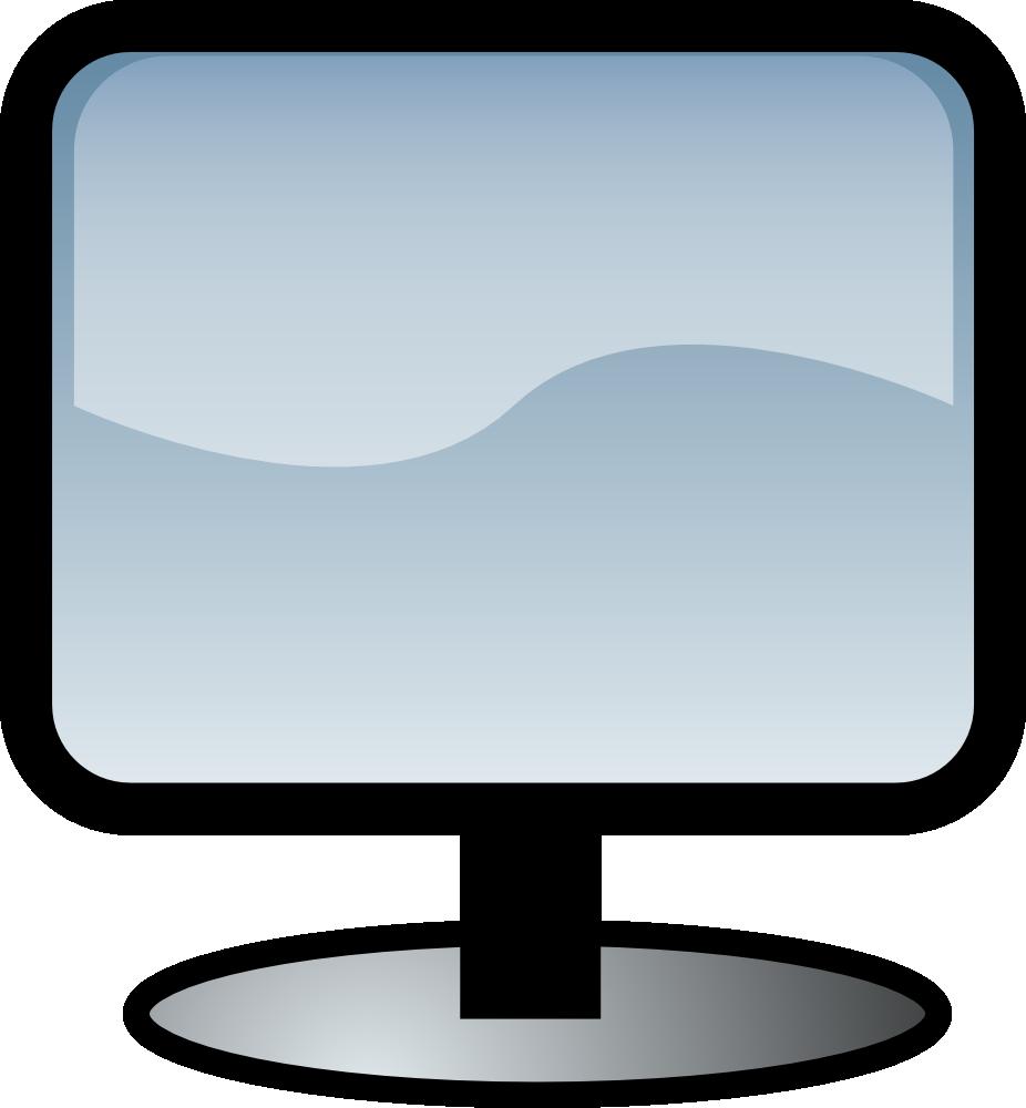 OnlineLabels Clip Art - Flat Screen