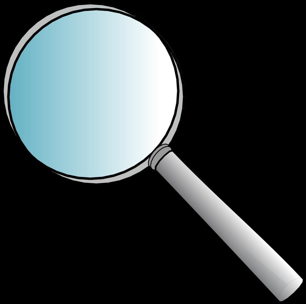 OnlineLabels Clip Art - Magnifying Glass
