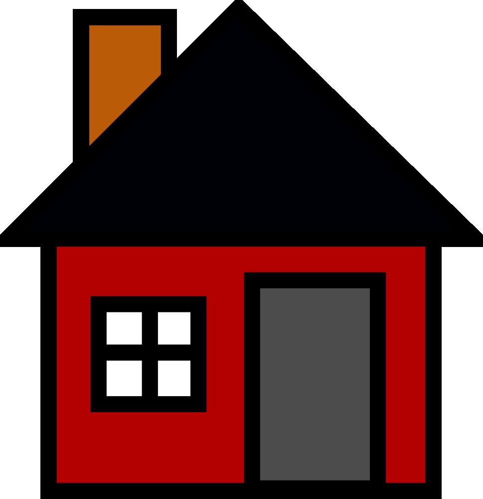 OnlineLabels Clip Art - Small House