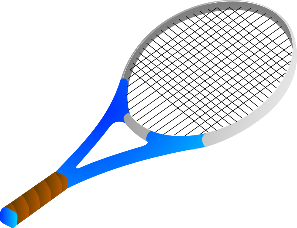 onlinelabels clip art tennis racket rh onlinelabels com Tennis Player Clip Art Tennis Silhouette Clip Art