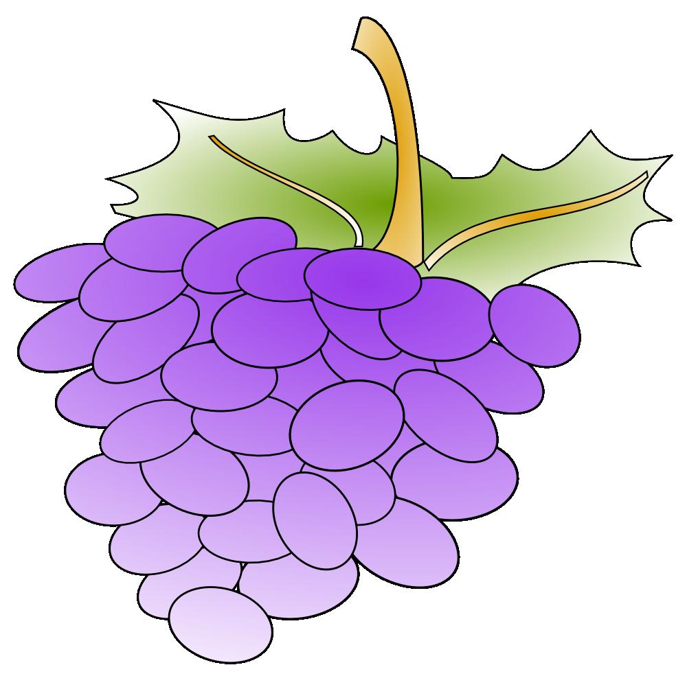 OnlineLabels Clip Art - Grapes (1000 x 985 Pixel)