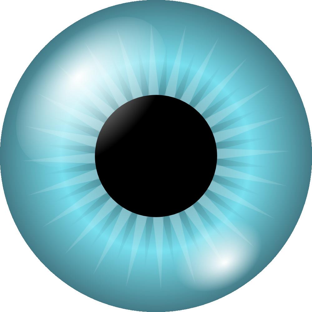 Onlinelabels Clip Art Iris And Pupil