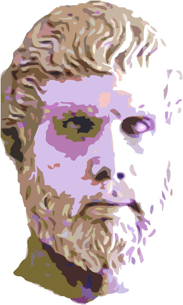 OnlineLabels Clip Art Man Head