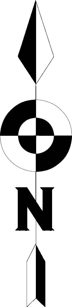OnlineLabels Clip Art - North Arrow