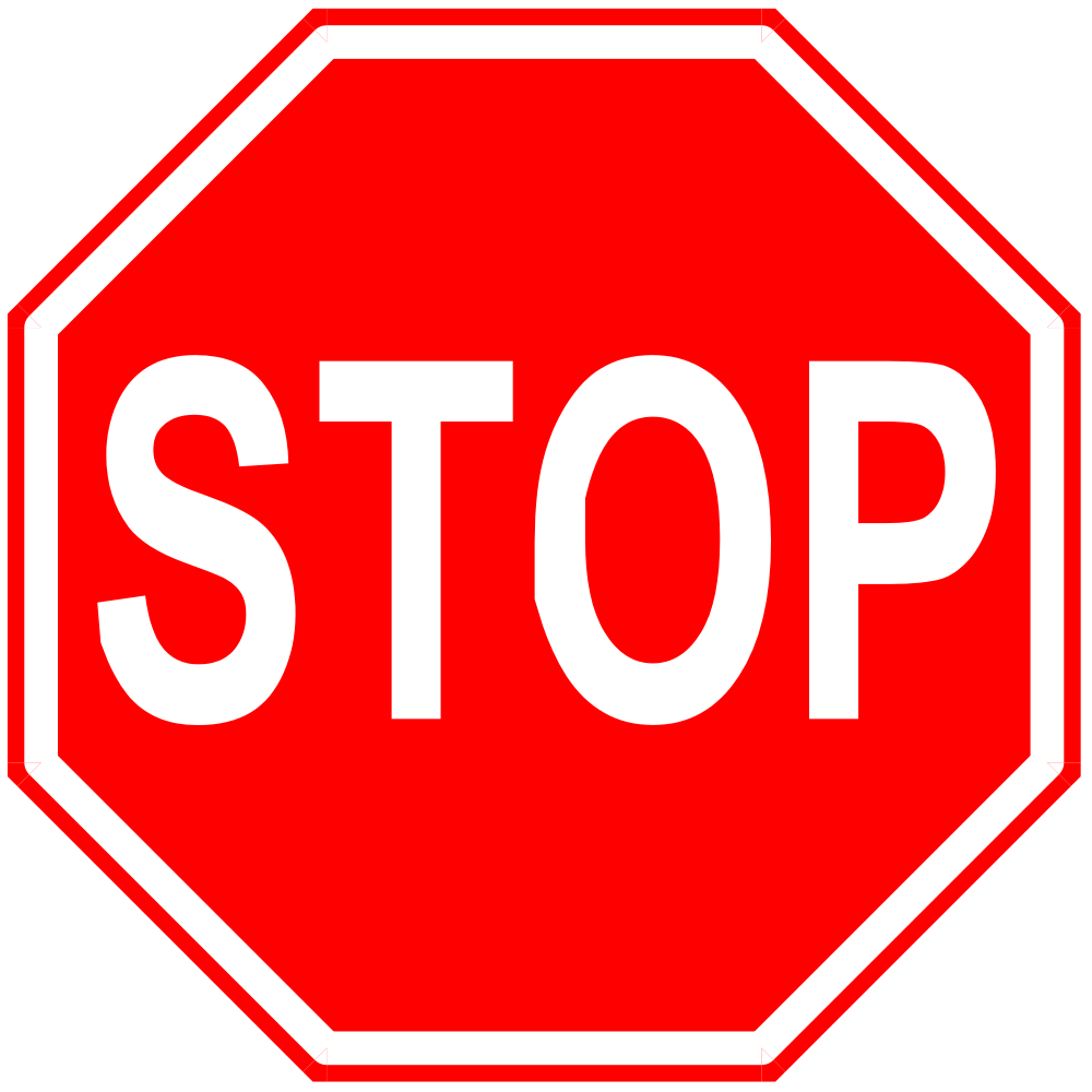 onlinelabels clip art stop sign. Black Bedroom Furniture Sets. Home Design Ideas