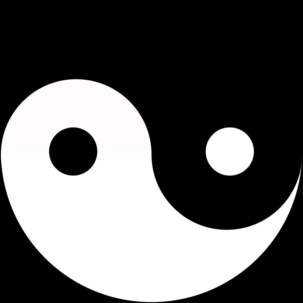 onlinelabels clip art yin yang rh onlinelabels com Animal Yin Yang Clip Art Yin Yang Clip Art Microsoft