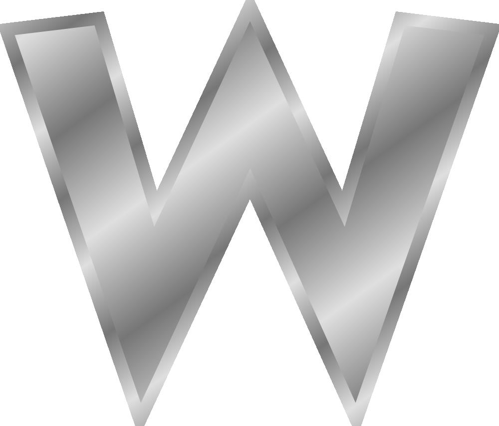Onlinelabels Clip Art  Effect Letters Alphabet Silver
