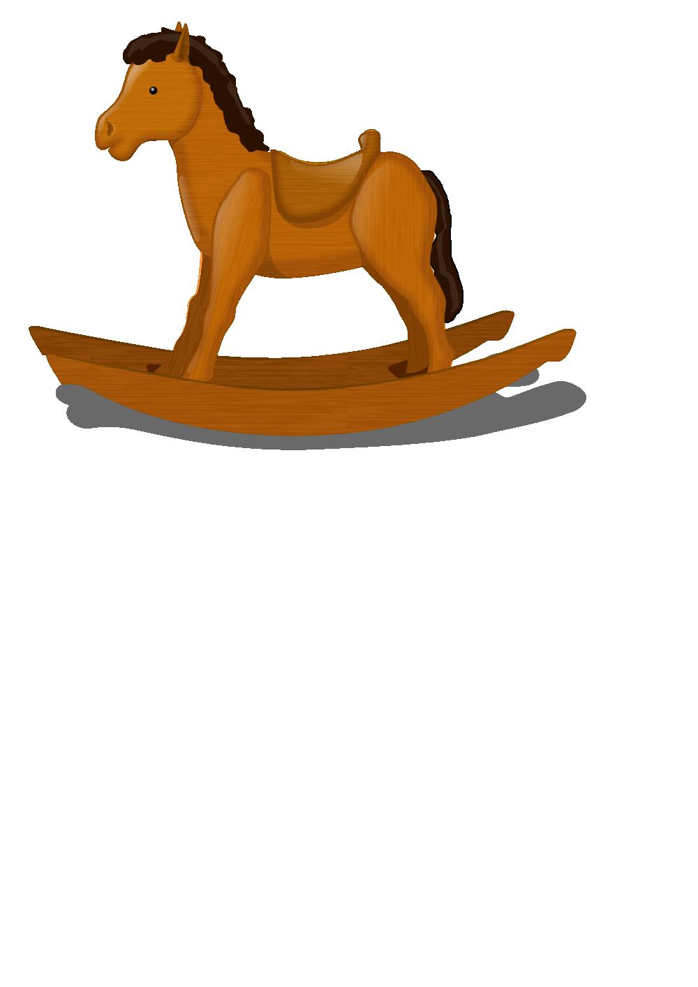 Лошадка качалка чертежи из картона