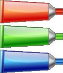 color tubes