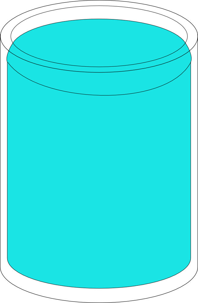 OnlineLabels Clip Art - Glass Of Water