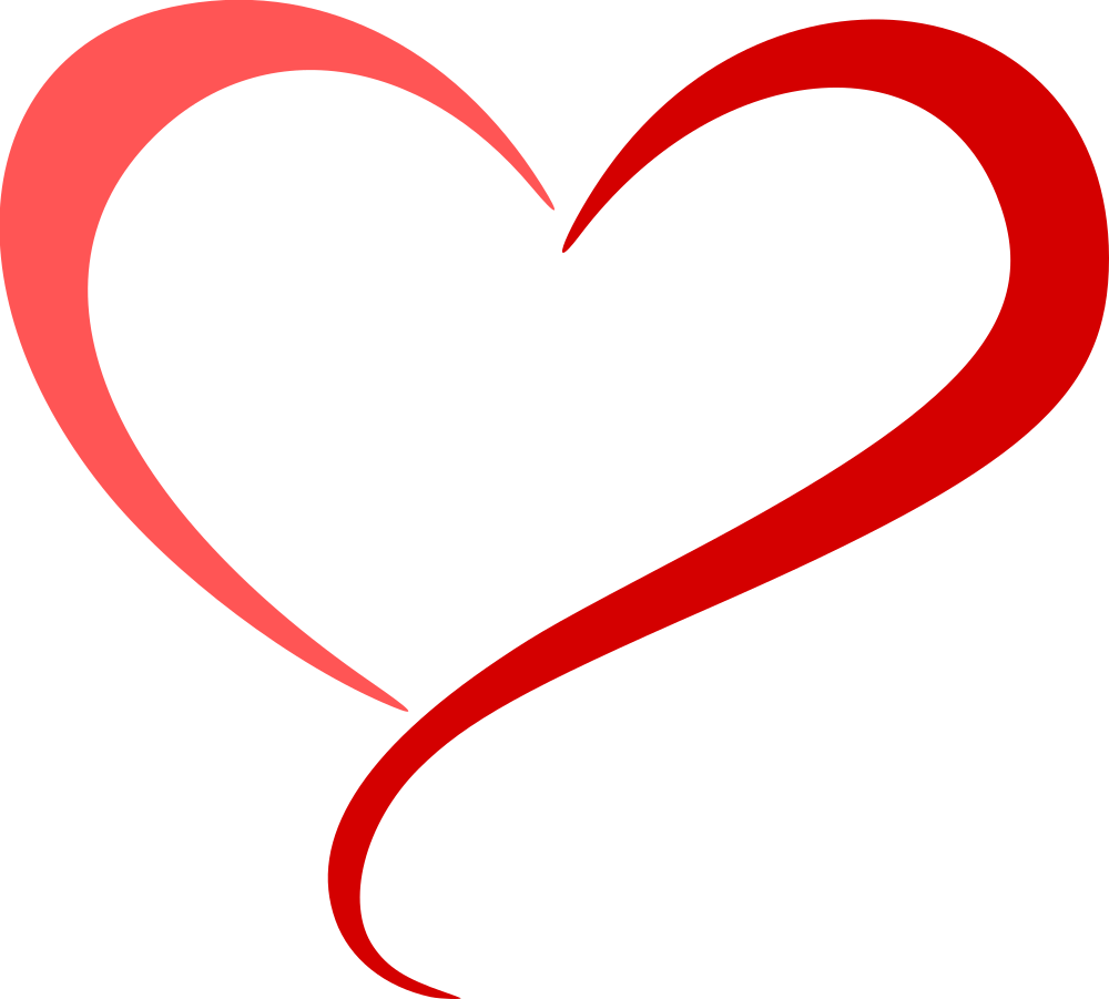 OnlineLabels Clip Art - Abstract Heart 5 (Colour)