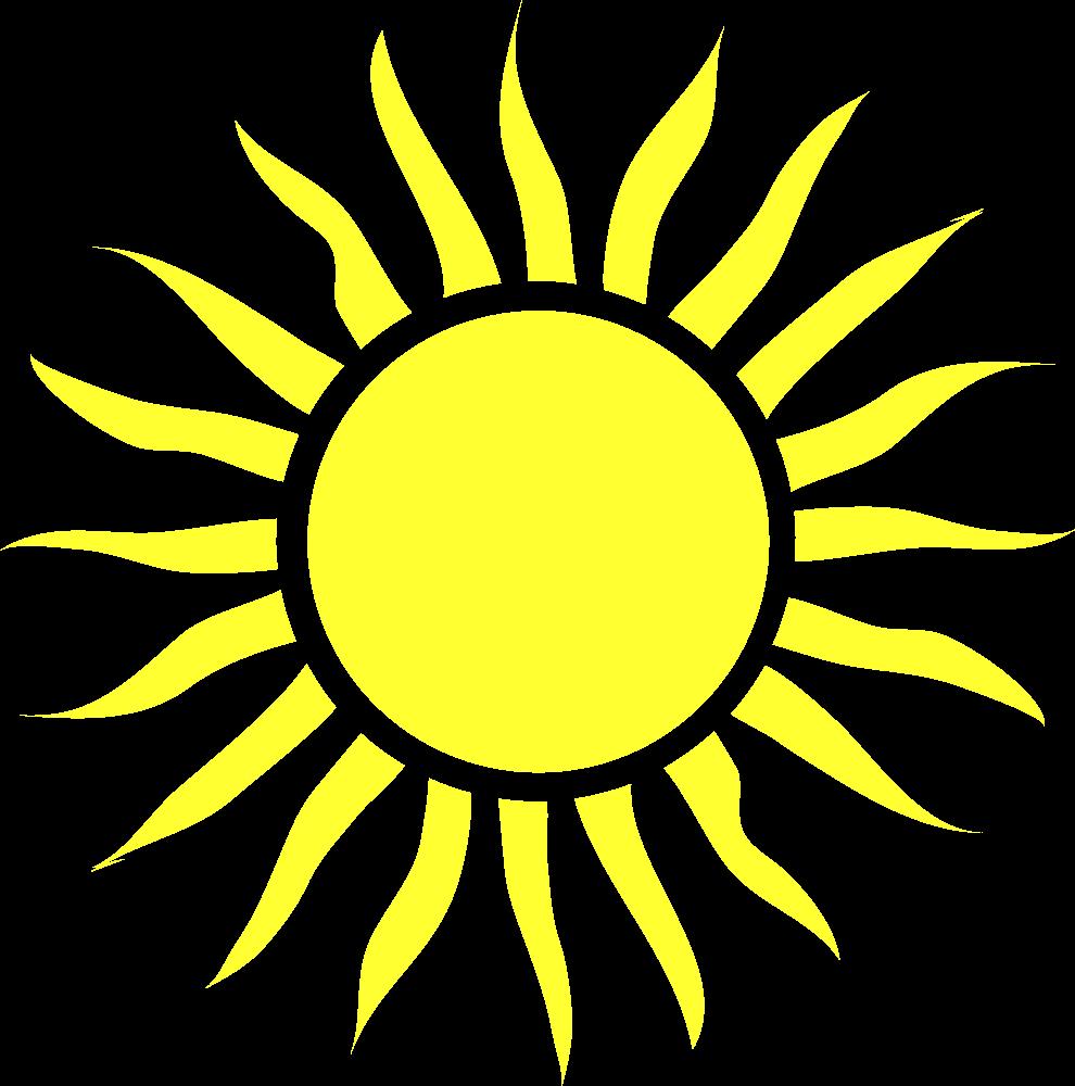Sun Clip Art: OnlineLabels Clip Art