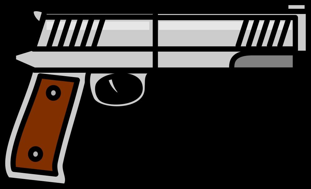 OnlineLabels Clip Art - Gun 15