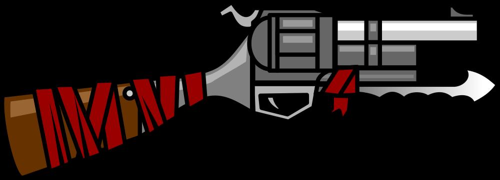 OnlineLabels Clip Art - Gun 18