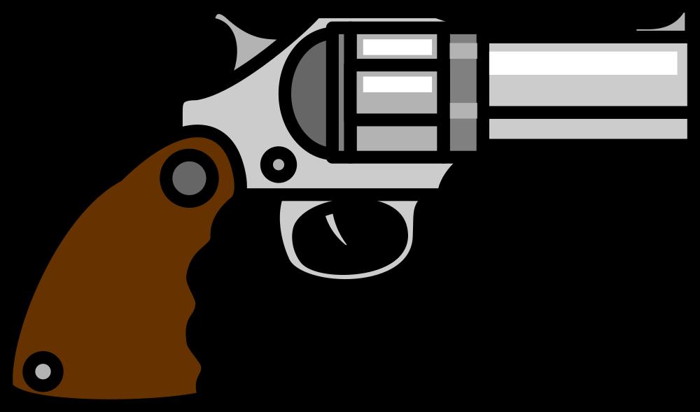 OnlineLabels Clip Art - Gun 3
