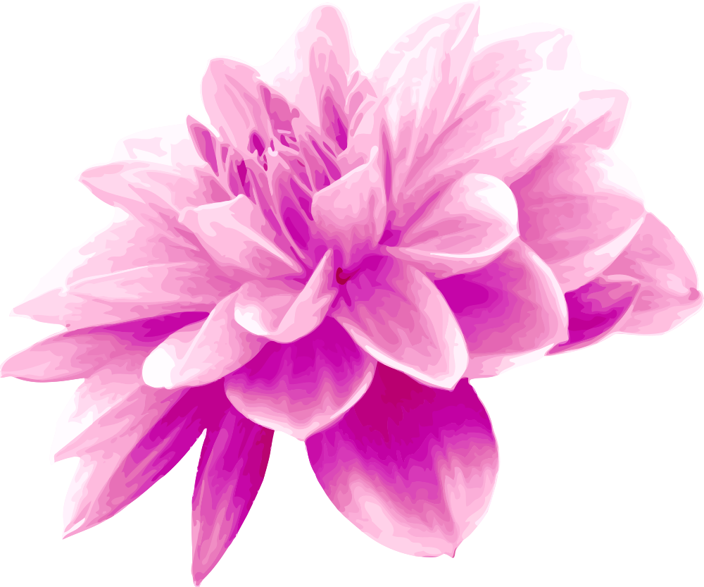 OnlineLabels Clip Art - Pink Flower