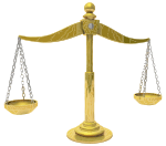 Brass Scales Of Justice