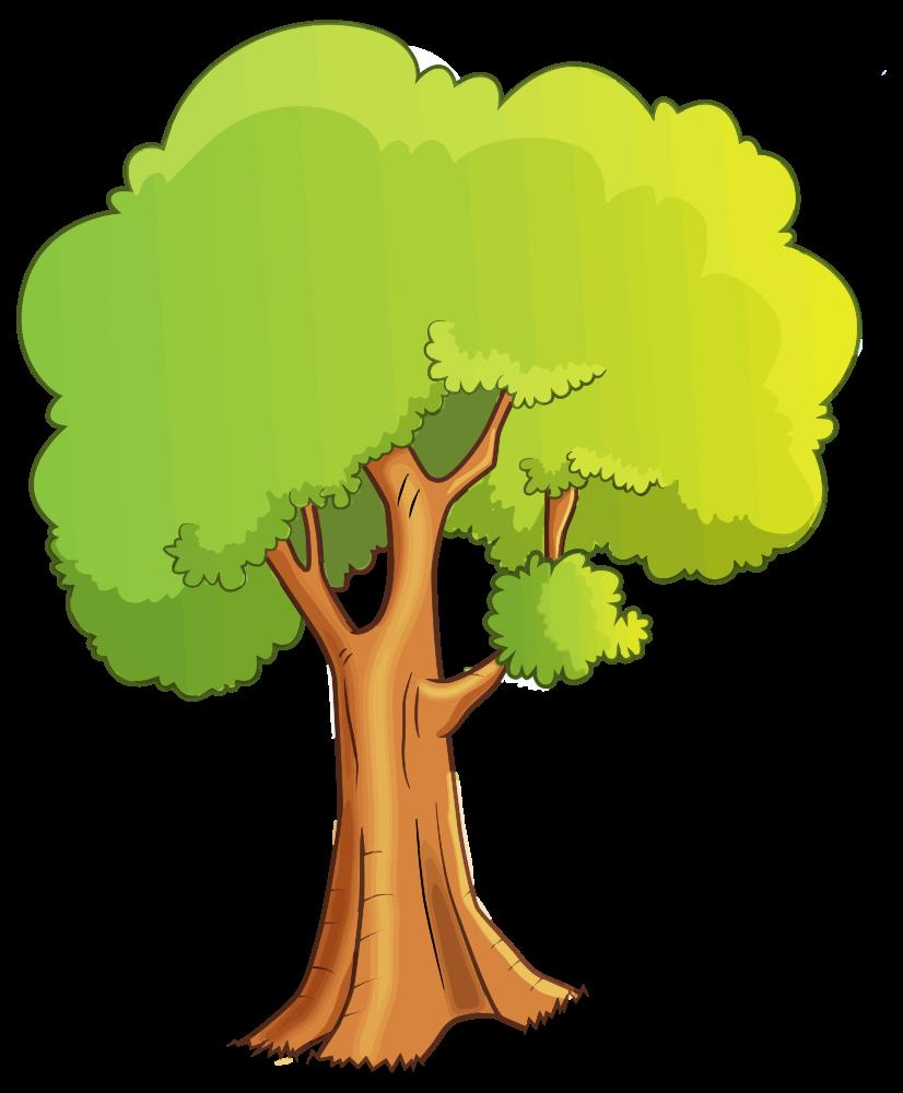 onlinelabels clip art cartoon tree isolated rh onlinelabels com Comic Book Clip Art Animal Clip Art