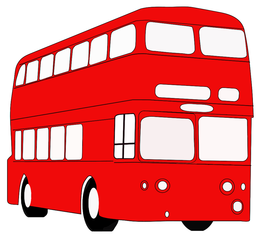 onlinelabels clip art double decker london bus rh onlinelabels com london double decker bus clipart london double decker bus clipart