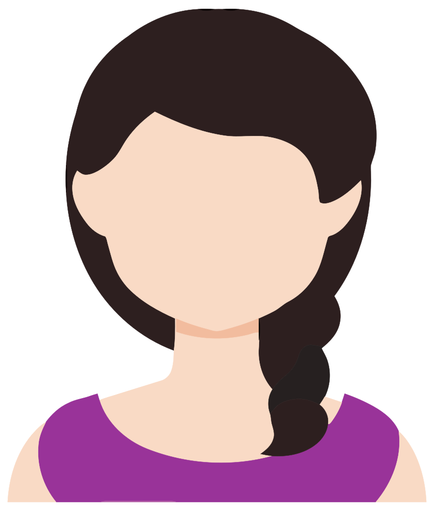 Female Avatar 4 - OnlineLabels Clip Art