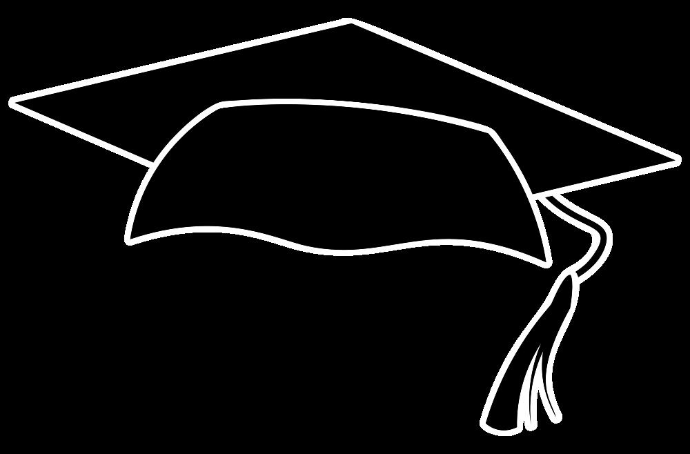 OnlineLabels Clip Art - Graduation Cap Icon