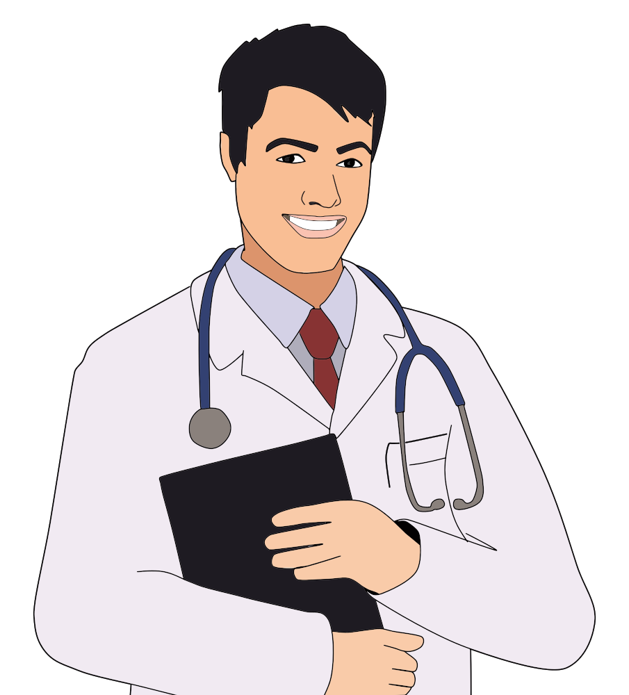 onlinelabels clip art young male doctor rh onlinelabels com young clipart black and white young clipart