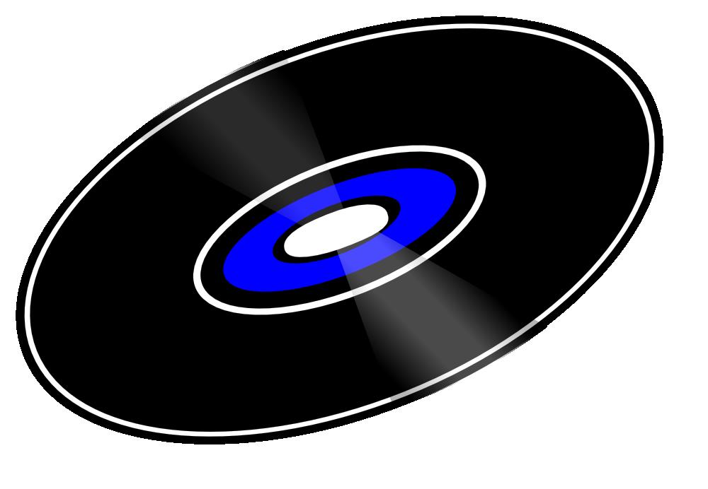 OnlineLabels Clip Art - 45 RPM Record