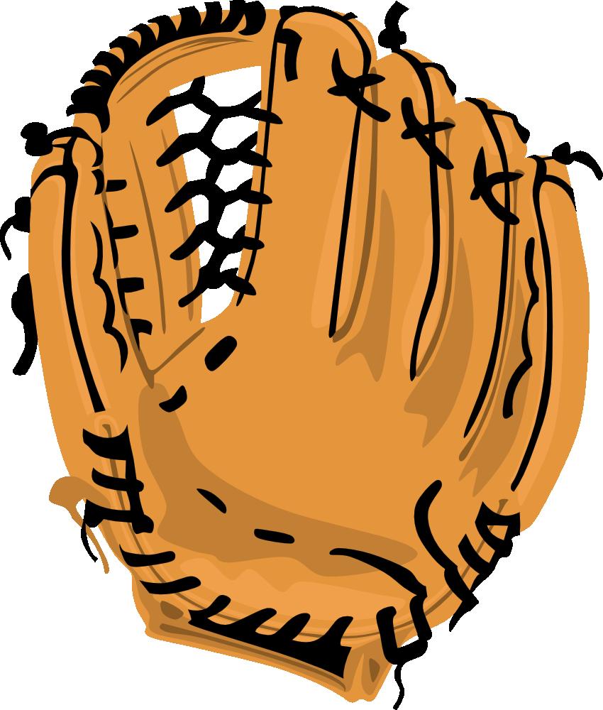 OnlineLabels Clip Art - Baseball Glove