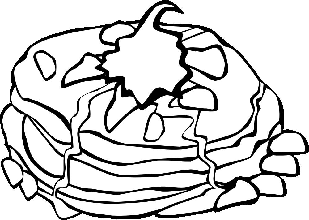 OnlineLabels Clip Art - Fast Food, Breakfast, Pancakes ...