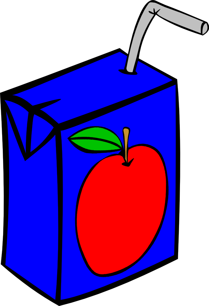 food fast drinks clip juice box apple svg menu onlinelabels