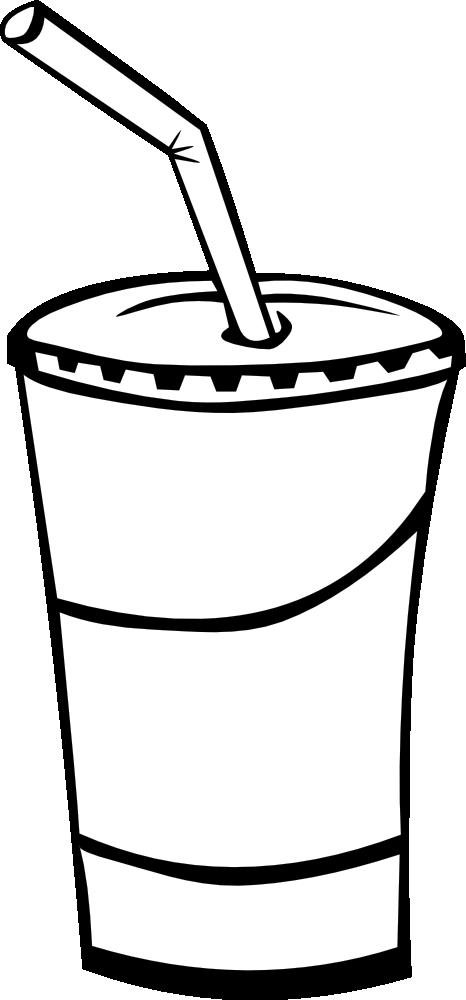 OnlineLabels Clip Art - Fast Food, Drinks, Soda, Fountain