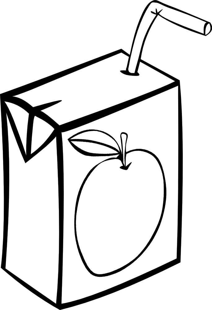 Fast Food Clipart Black And White