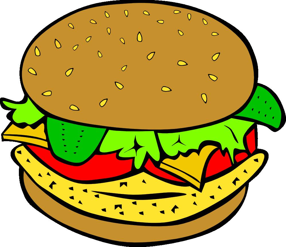 onlinelabels clip art fast food lunch dinner chicken burger rh onlinelabels com food clipart gallery