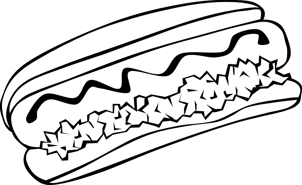 onlinelabels clip art fast food lunch dinner hot dog rh onlinelabels com hot lunch clipart black and white Lunch and Learn Clip Art