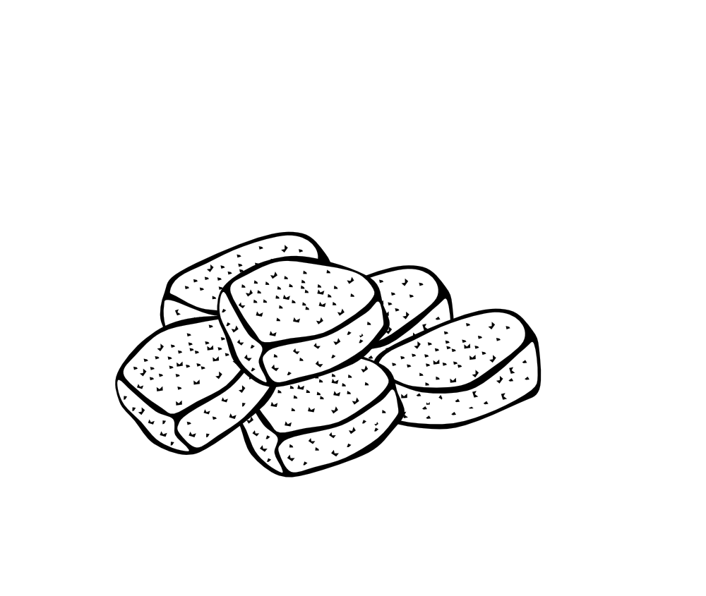 clipart of chicken nuggets - photo #40