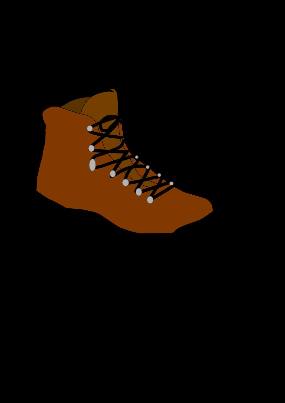 OnlineLabels Clip Art - Hiking Boot