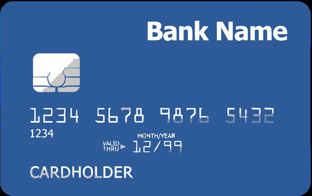 onlinelabels clip art  credit card front