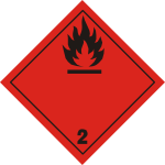 ADR pictogram 2.1-Flammable gases