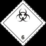 ADR pictogram 6.2-Infectious substances