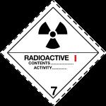 ADR pictogram 7a-Radioactive