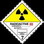 ADR pictogram 7c-Radioactive