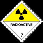 ADR pictogram 7d-Radioactive