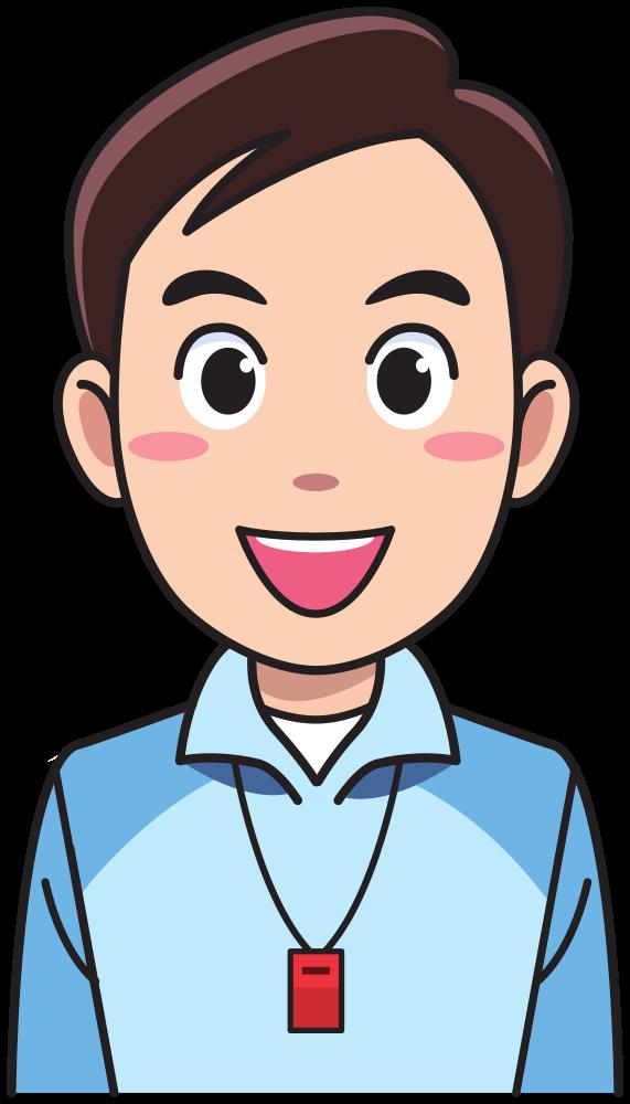 OnlineLabels Clip Art - Man - Physical Education Teacher