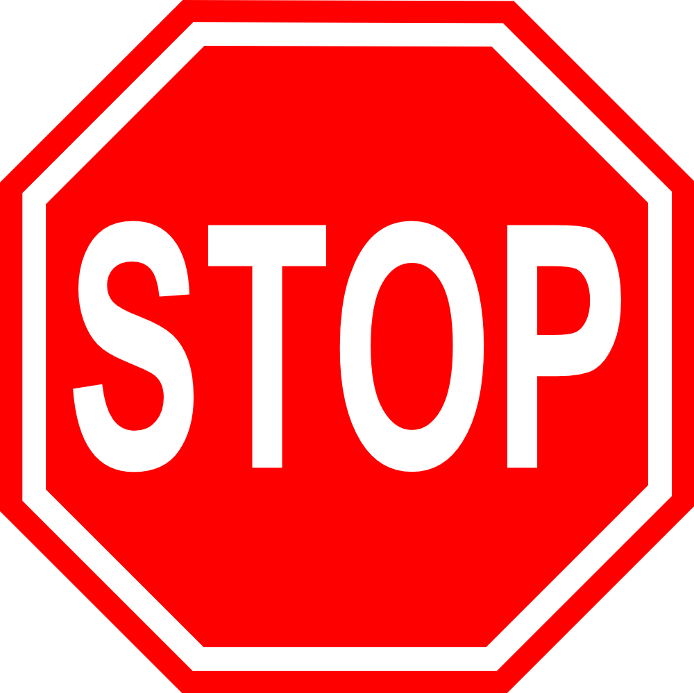 Onlinelabels Clip Art Stop Sign With Transparent Background
