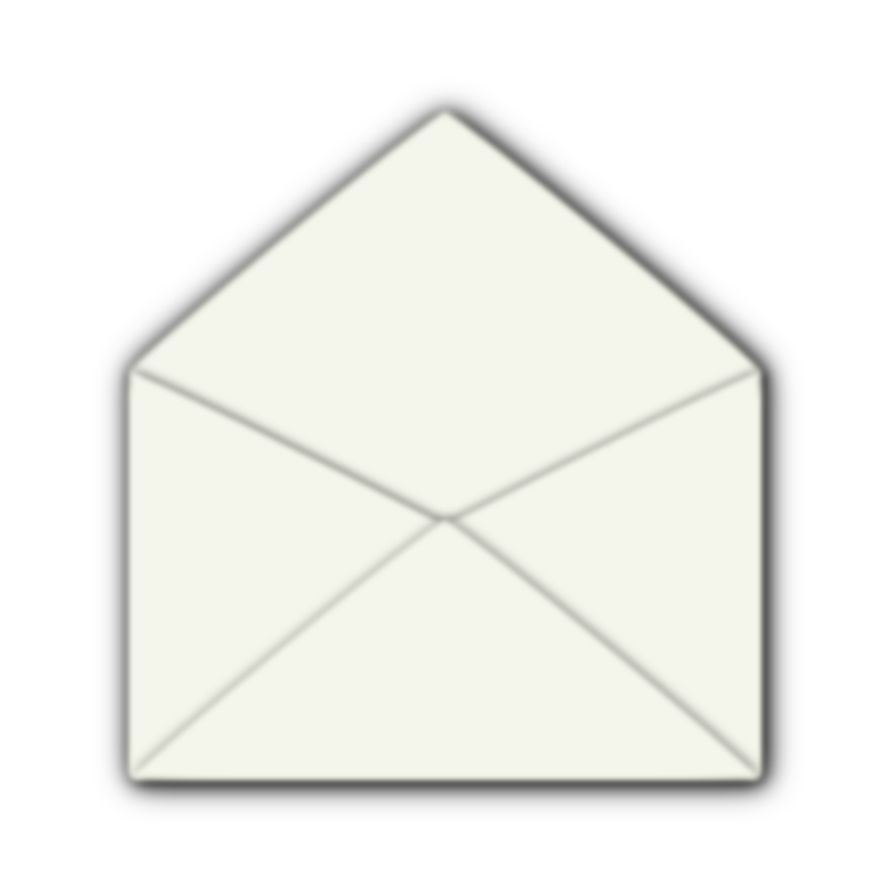 OnlineLabels Clip Art - Open Envelope