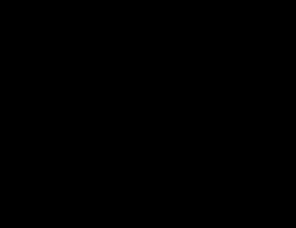 OnlineLabels Clip Art - Cow Silhouette
